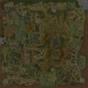 Mud Bog Island Map