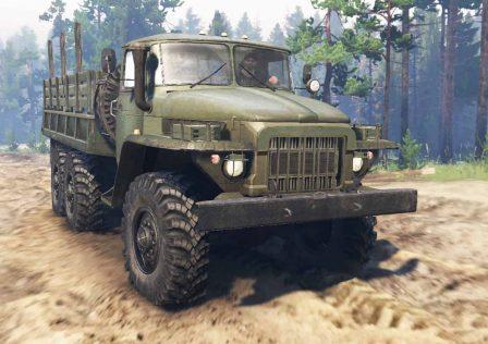 Ural-375-Truck