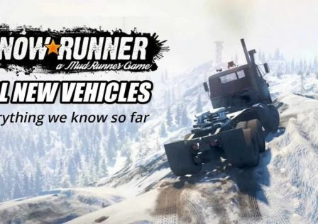 new vehicles graphics physics SnowRunner